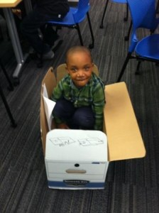 boy in box